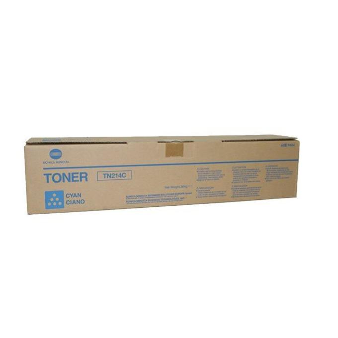 Касета за за Konica Minolta BIZHUB C200 - Cyan - TN214C - P№ A0D7454 - Заб.: 18 500k image