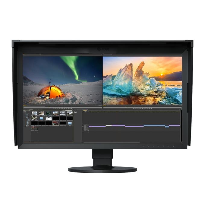 """Монитор EIZO CG279X, 27"""" (68.58 cm) IPS панел, WQHD, 13 ms, 350 cd/m2, DisplayPort, HDMI, 2x USB, 1x USB-Type C  image"""