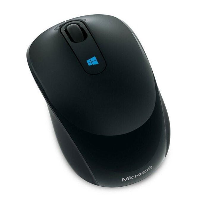 Мишка Microsoft Sculpt Mobile, черна, безжична, BlueTrack image
