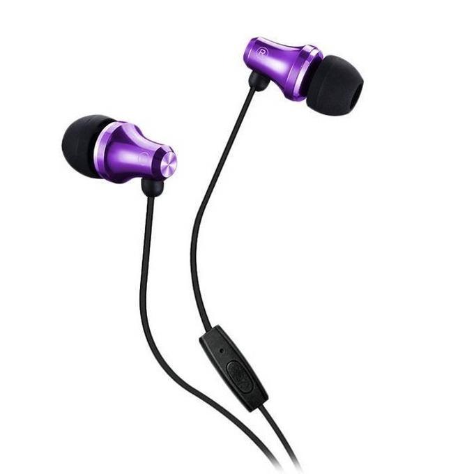 Слушалки с микрофон Fenda Spiro E260SP, микрофон, 20Hz-20kHz честотен диапазон, 1.2 м кабел, лилави image