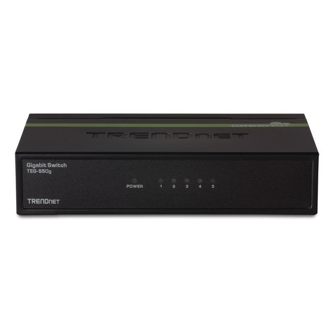 Суич TRENDnet TEG-S50G, 1000Mbps, 5x ports image