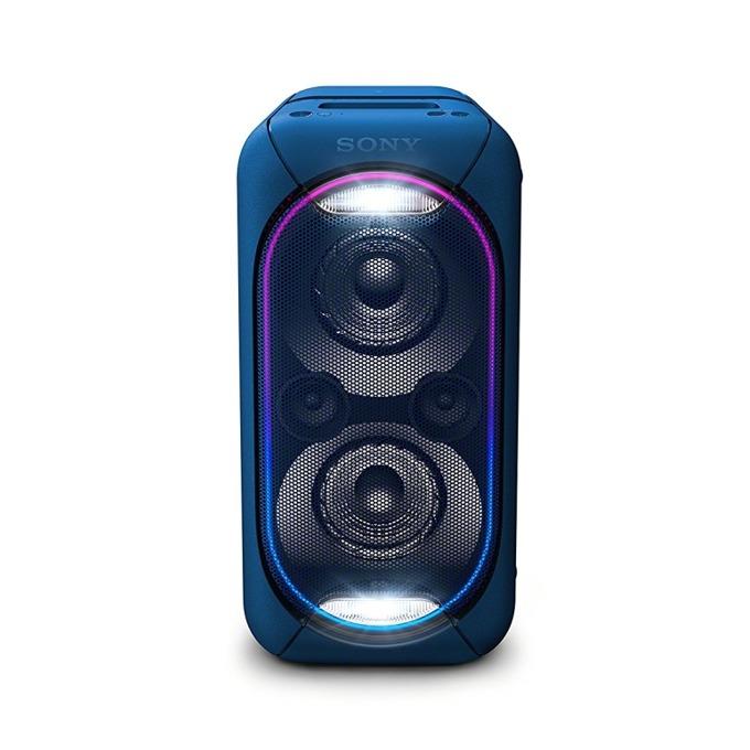 Тонколона Sony GTK-XB60, 1.0, Bluetooth, NFC, USB, AUX, RCA, синя, караоке image