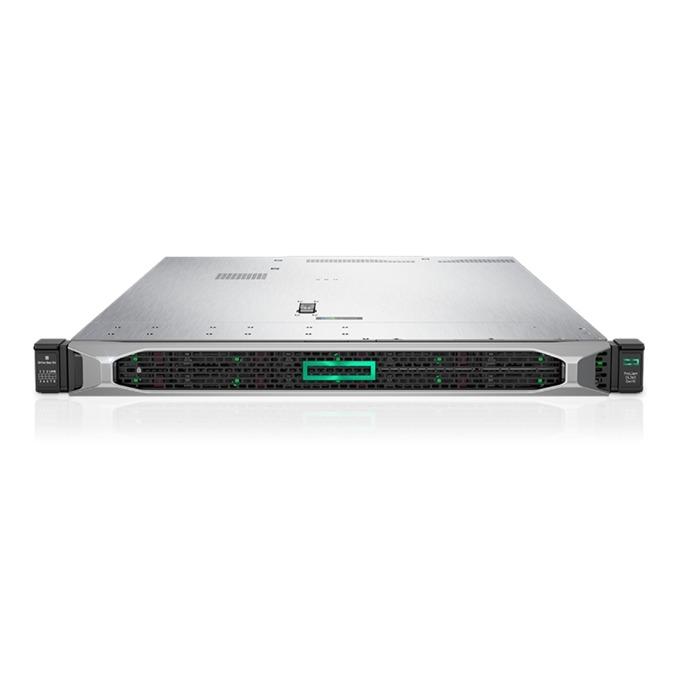 Сървър HPE ProLiant DL360 G10 (ENTDL360-002), шестядрен Intel Xeon-Bronze 3104 1.7GHz, 8GB RDIMM & 8GB 1Rx8 PC4, 2x 1TB SATA HDD, DP, VGA, 4x 1GbE, 1x Micro SD, 5x USB 3.0, 500W захранване image