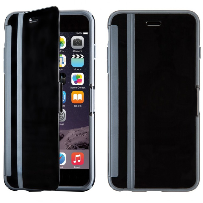 Калъф за iPhone 6S Plus, Flip cover, Speck CandyShell Wrap, черен image