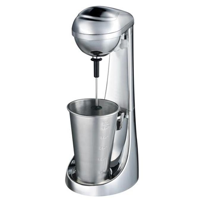 Μашина за фрапе и напитки Singer SDM100CH, Вместимост на мензура 0.450л, Защитен бутон, Нехлъзгаща се основа, 100W, сребриста image