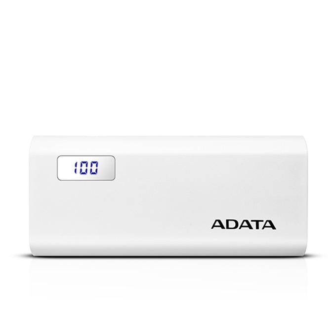 Външна батерия/power bank/ A-Data P12500D, 12500mAh, бяла image