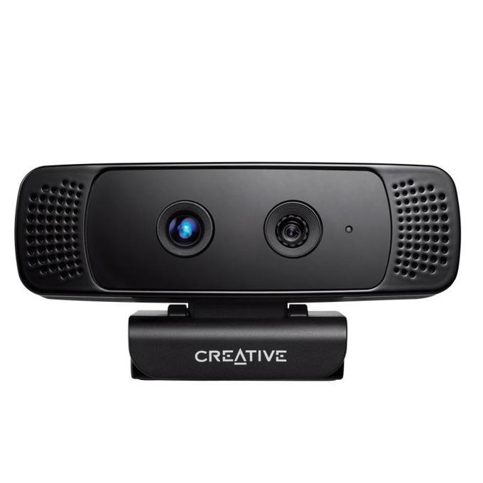 Уеб камера CREATIVE Senz3D, микрофон, 1280x720(30FPS), USB 2.0, черна image