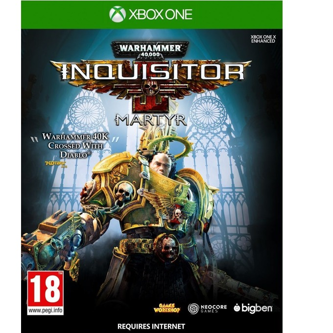 Warhammer 40,000 Inquisitor Martyr, за Xbox One image