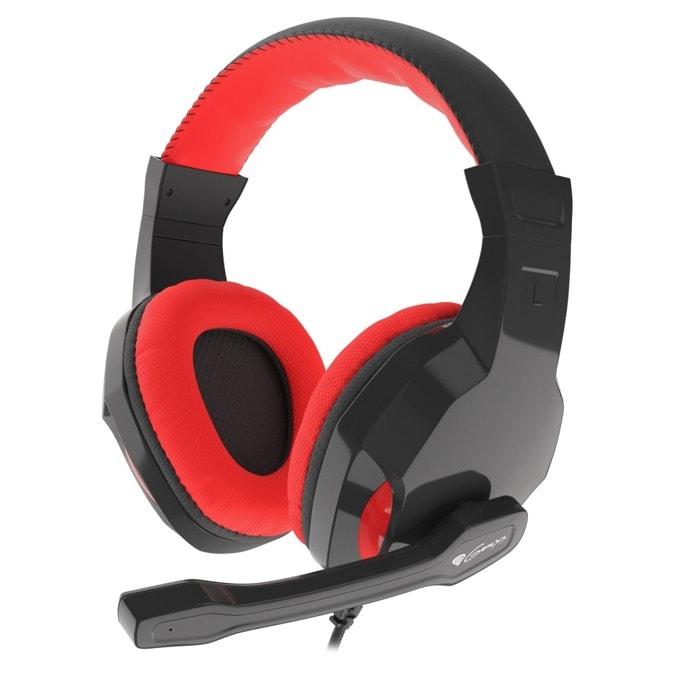 Слушалка Genesis Argon 110, микрофон, черни/червени image