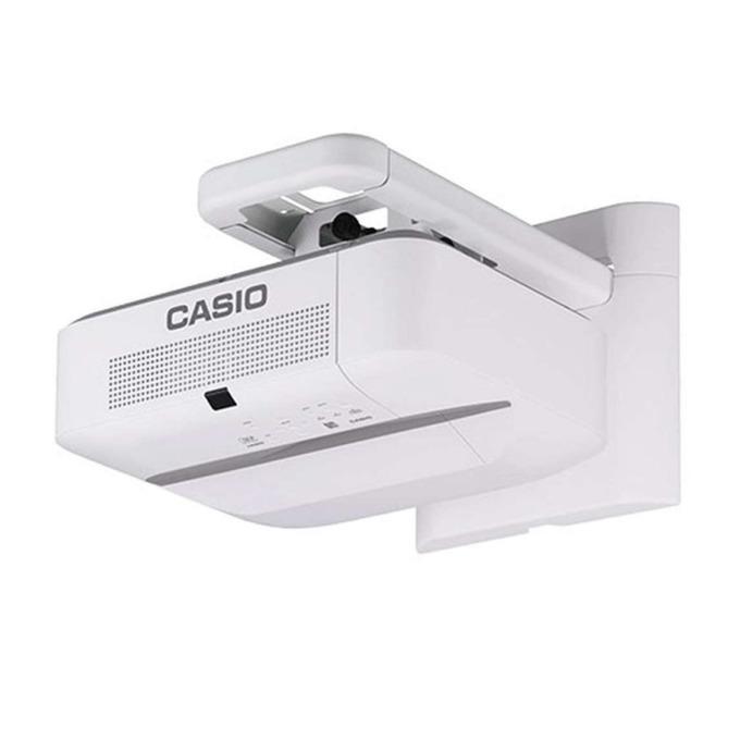 Проектор Casio XJ-UT352W, DLP, 3D, WXGA (1280 x 800), 20 000:1, 3500 lm, HDMI, VGA, USB, RJ-45, бял image