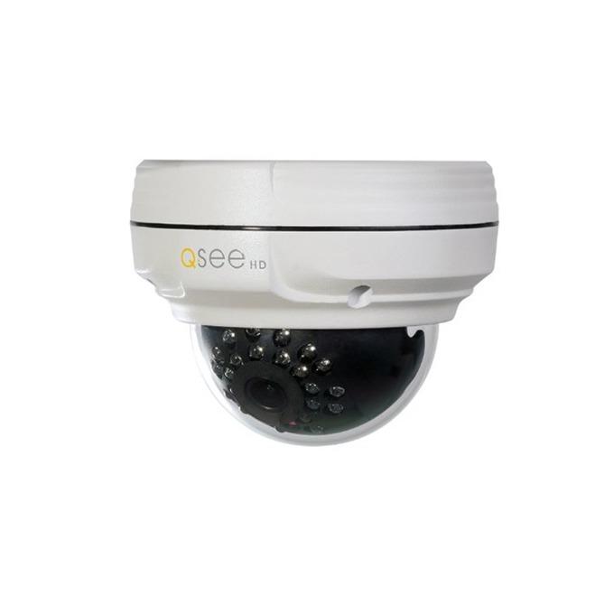 IP камера Q-See QTN8042D, куполна камера, 4 Mpix (2560x1440@30FPS), 3.6mm обектив, H.264/M-JPEG, IR осветеност( до 20м), външна, IP66 водозащита, microSD слот, PoE, Lan 10/100 image