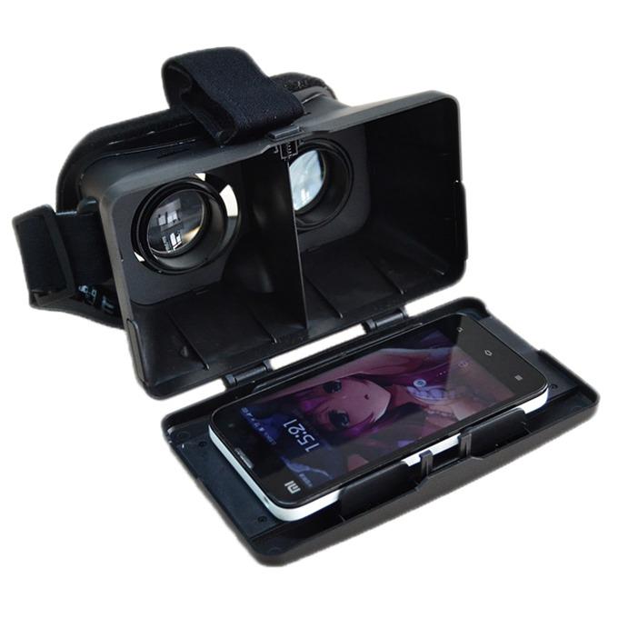 Очила за виртуална реалност 4smarts Universal VR Glasses Spectator за iOS и Android, черни image