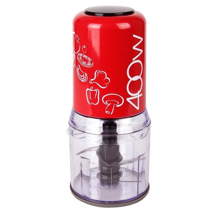 Чопър Zephyr ZP 1111 K, 500 мл, 400W, мощен електромотор с ниско ниво на шума при работа, червен image
