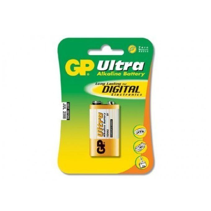 Батерия алкална GP Ultra 6F22, 9V, 1 бр. image