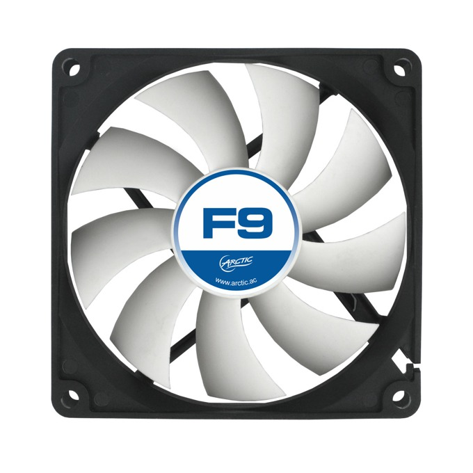 Fan 92mm, Arctic Fan F9 AFACO-09000-GBA01