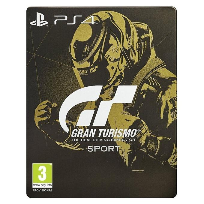 Игра за конзола Gran Turismo Sport Limited SteelBook Edition, за PS4 image