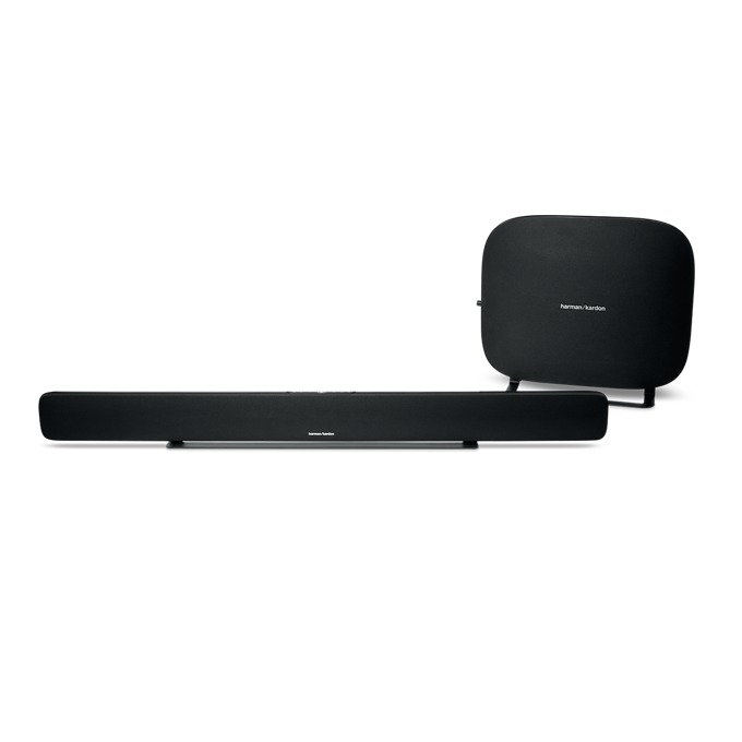 Саундбар harman/kardon OMNI BAR PLUS, 4, безжична, Wi-Fi, Bluetooth, RMS 120W(4x 30W), черни image