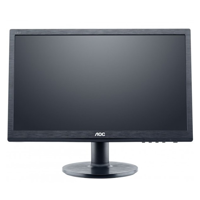 "Монитор 19.53"" (49.6 cm) AOC M2060SWDA2, MVA екран, FULL HD LED, 5ms, 20 000 000:1, 250 cd/m2, DVI image"