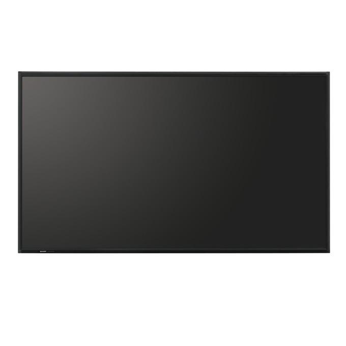 "Публичен дисплей Sharp PNR903A, 90"" (228.6 cm), Full HD, LAN, DisplayPort, HDMI, VGA, DVI, RS232 image"
