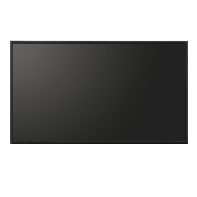 "Публичен дисплей Sharp PNR903A, 90"" (228.6 cm), Full HD, LAN, DisplayPort, HDMI, VGA, DVI, RS232 image"