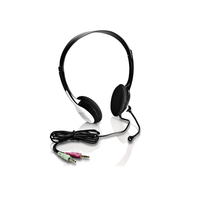 Слушалки Fujitsu HS E2000, микрофон, черни image