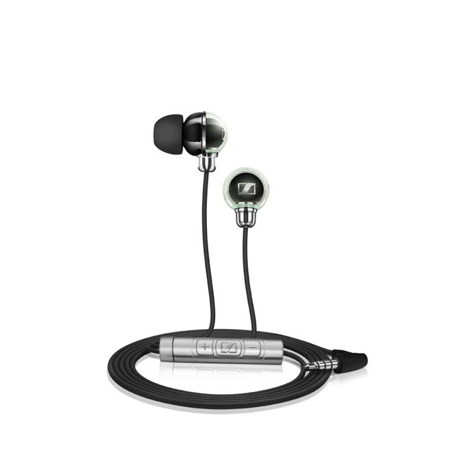 "Слушалки Sennheiser CX 890i, тип ""тапи"", микрофон, черни image"