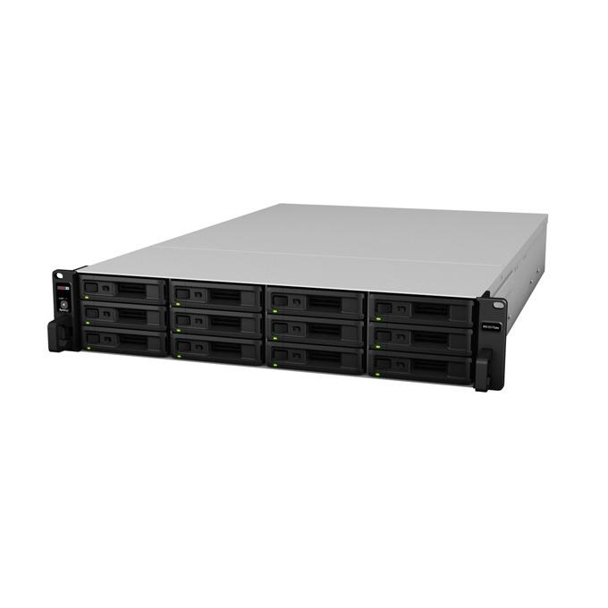 "Мрежови диск (NAS) Synology RX1217sas, за RS18017xs+/FS3017, без твърд диск (12x 2.5"" SAS/SATA HDD/SSD), 2U image"