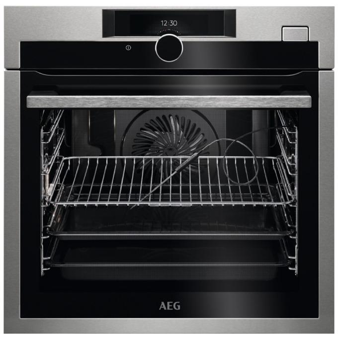 Фурна за вграждане AEG BSE 882320 M, клас А+, 3 нива на печене, бързо нагряване, 73 л. обем, TouchControl, вентилатор за охлаждане на електронните компоненти, инокс image