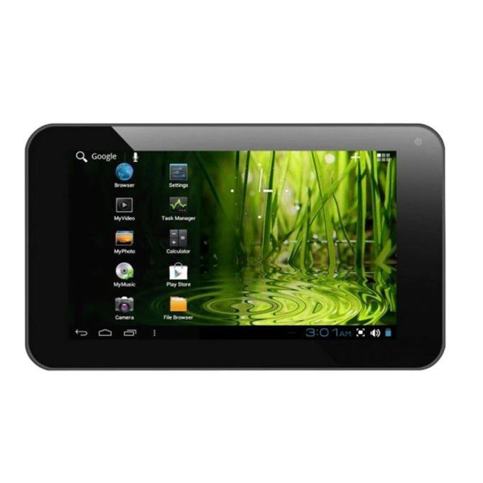 "Таблет Privileg MID-10B (черен), 10"" (25.5 cm) TFT дисплей, едноядрен VIA WM8850 1.2GHz, 1GB RAM, 8GB Flash памет (+ MicroSD слот), 2.0 & 0.3 Mpix камера, Android, 586g image"