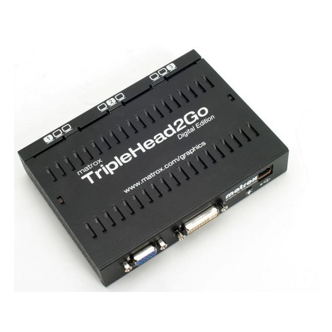 Видео карта Външна видеокарта Matrox TripleHead2Go Digital Edition, работа с 2 до 3 дисплея image