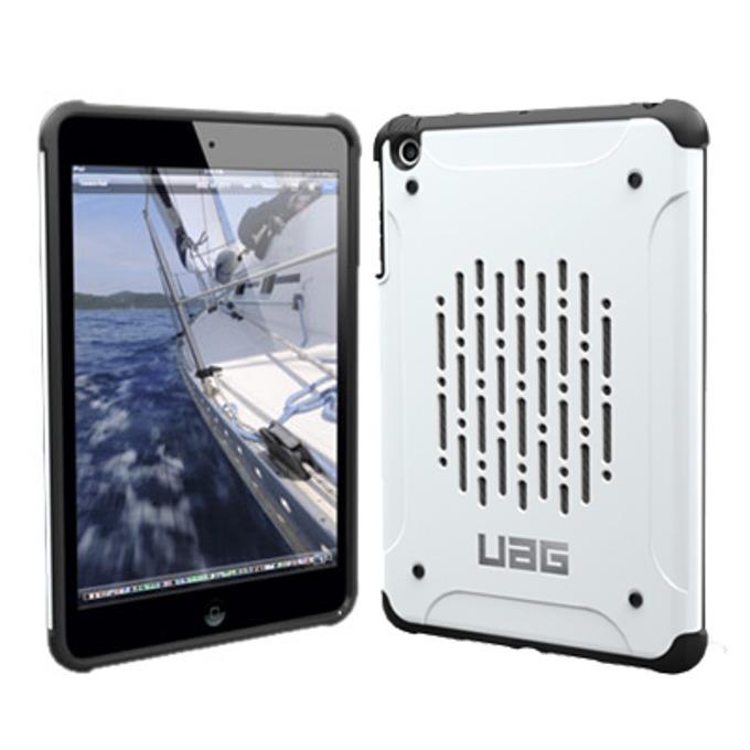 Поликарбонатов протектор Urban Armor Navigator за iPad mini/2/3 (бял), удароустойчив image