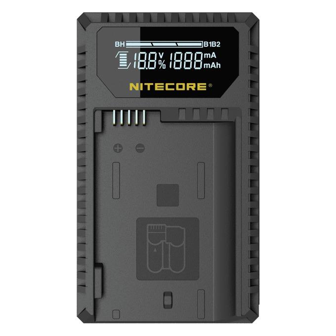 Зарядно устройство Nitecore UNK1 за Nikon, съвместими батери EN-EL14/EN-EL14a/EN-EL15, DC 5V/2A image