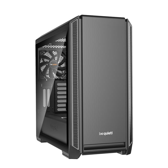 Кутия Be Quiet Silent Base 601, E-ATX, ATX, M-ATX, Mini-ITX, USB 3.0, прозорец от закалено стъкло, черна, без захранване image