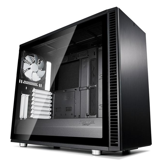 Кутия Fractal Design Define S2 Black – TG, mATX, ATX, ITX, EATX, USB 3.1 Gen 2 Type-C, черна, без захранване image