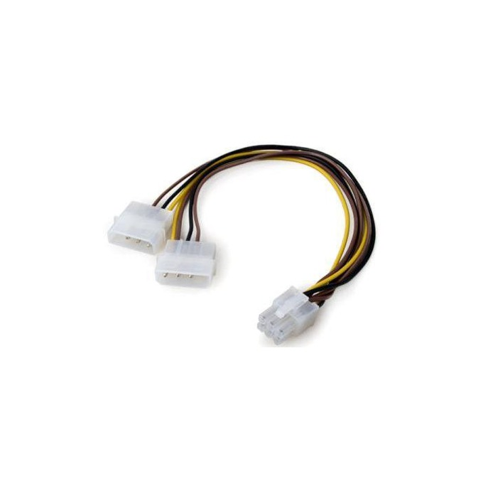 VCom CE313 6pin PCI-E към 2x 4pin Molex
