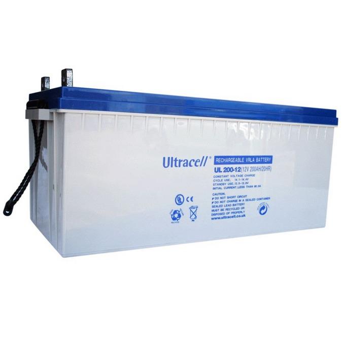 Акумулаторна батерия Ultracell 200-12, 12V, 200Ah image