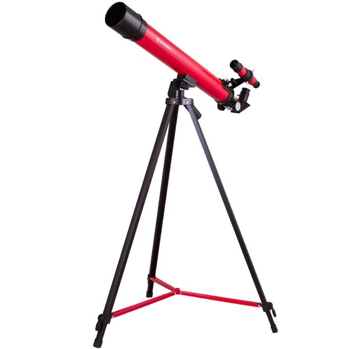 Телескоп Bresser Junior Space Explorer 45/600 AZ, 50–100x оптично увеличение, червен image
