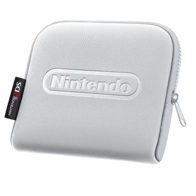 Nintendo 2DS Carrying Case Silver product
