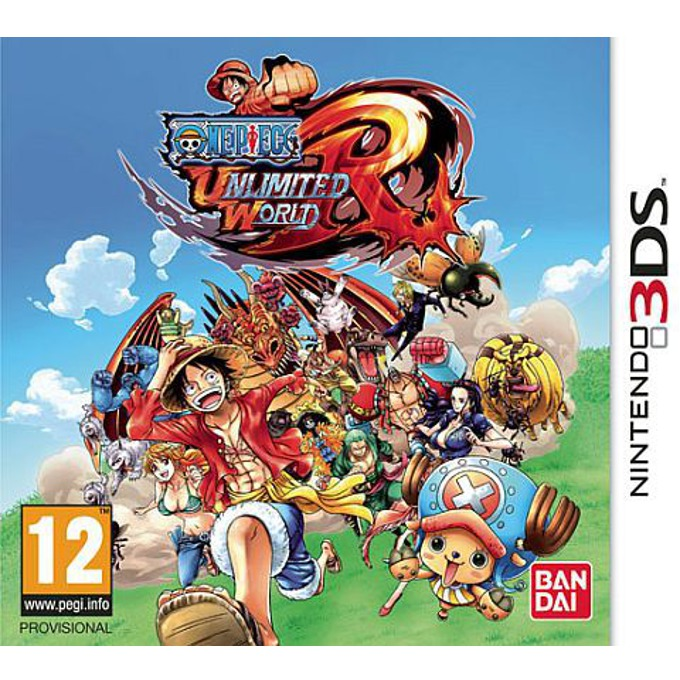 One Piece Unlimited World Red, за 3DS image