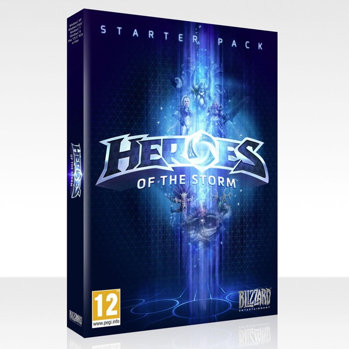 Игра Heroes of the Storm Starter Pack, за PC image