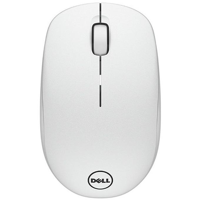 Мишка Dell WM126, безжична, оптична (1000 dpi), USB, бяла image