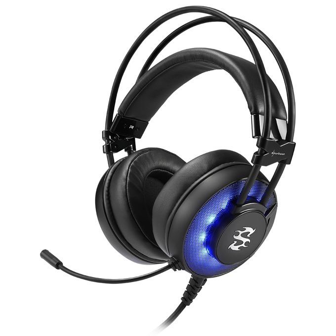 Слушалки Skiller SGH2, микрофон, 20 Hz-20000 Hz, 94 dB ± 3 dB, черен/син image
