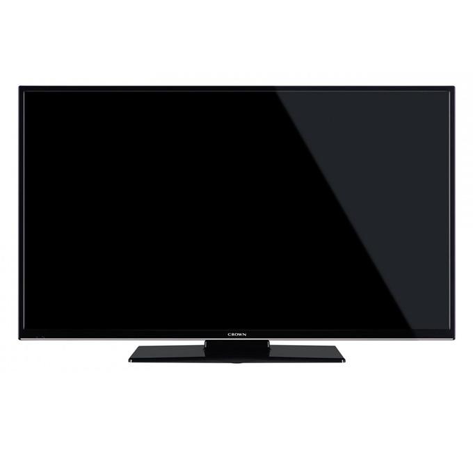 "Телевизор Crown 24472, 24""(60.96 cm) HD Ready LED LCD TV, DVB-T/C/MPEG4, SCART, VGA, HDMI, USB image"