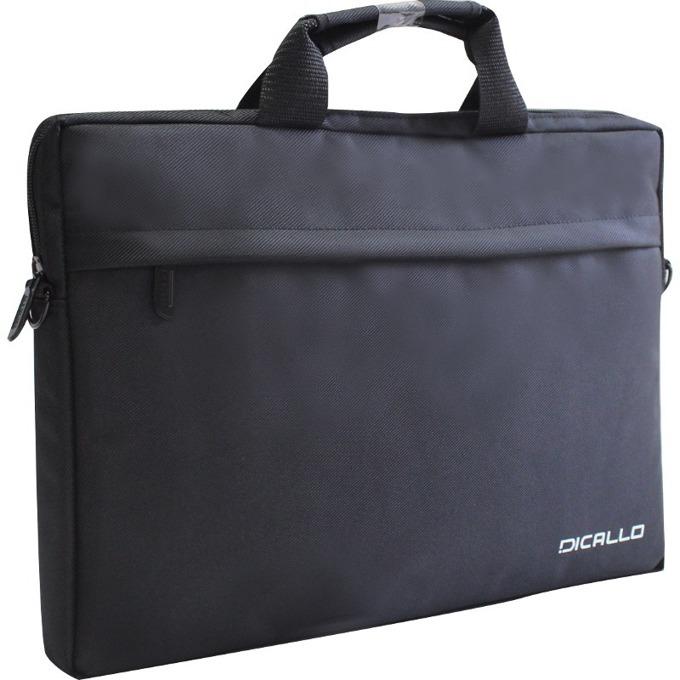 "Чанта за лаптоп Dicallo LLM0314 до 15.6"" (39.62 cm), черна image"