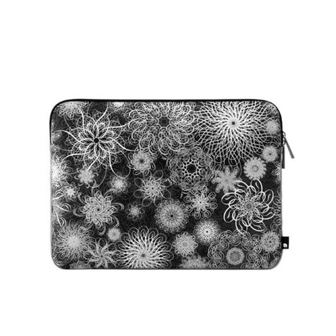 """Дизайнерски калъф InCase Ryan McGinness, неопренов, влагоустойчив, за MacBook и всяко устройство с големина 15.4"""", черно-бял image"""
