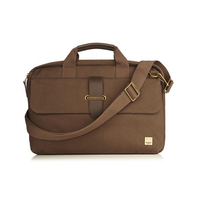 "Чанта за лаптоп Knomo Par New Slim Brief 15, 15.6""(39.6 cm), кафява image"
