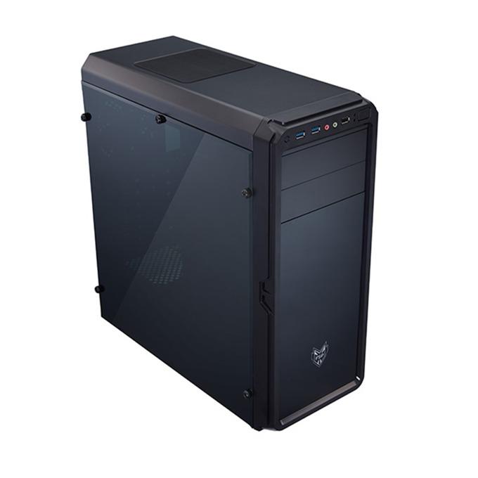 Кутия Fortron CMT120A, ATX, Micro-ATX, 2 x USB 3.0, черна, без захранване image