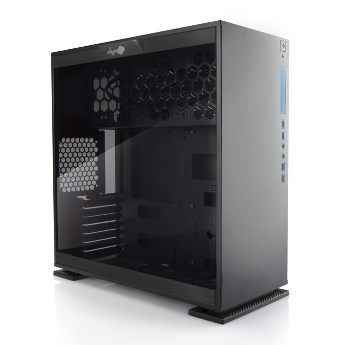 ATX/Micro-ATX/Mini-ITX, In-Win 303, 2x USB 3.0, черна, без захранване image
