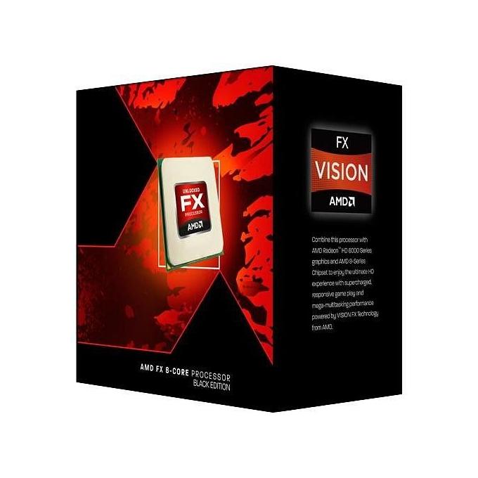 Процесор AMD FX-8320 Black Edition осем-ядрен (3.5GHz (Turbo Freq. @4.0GHz), 8MB L2/8MB L3, 125W, AM3+), BOX, с охлаждане image