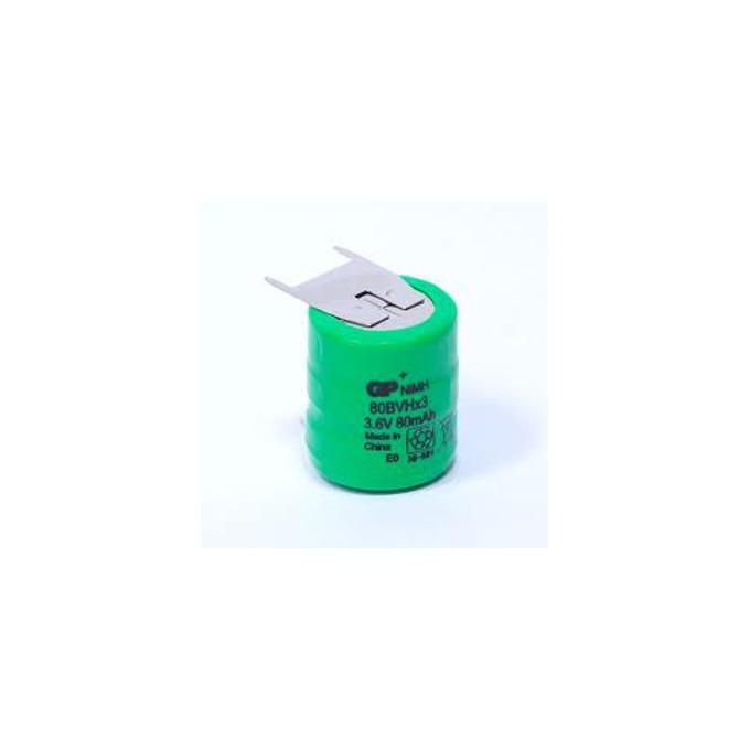 Акумулаторна батерия GP NiMH, V80, 3.6V, 80mAh, 1бр.  image